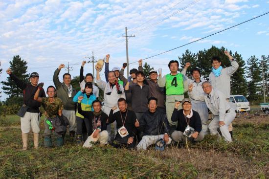 アグリスタート研修10期生草刈現地研修を開催しました。